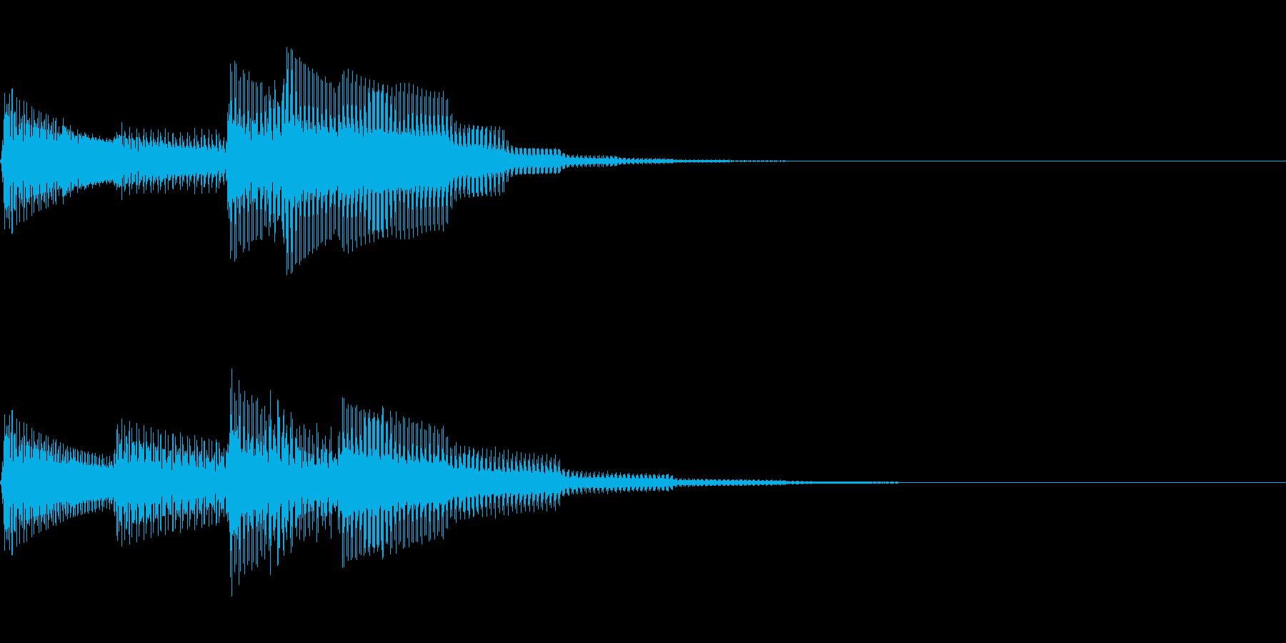 チャーン(回復クリア/ファミコン#5の再生済みの波形