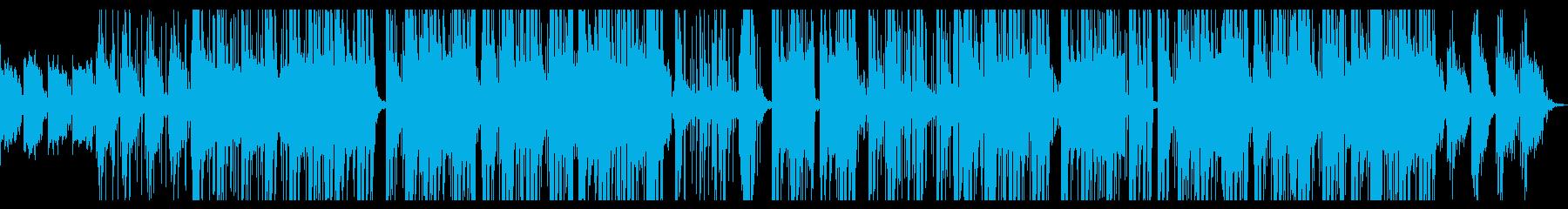トロピカル ゆっくり 魅惑 電気ピ...の再生済みの波形