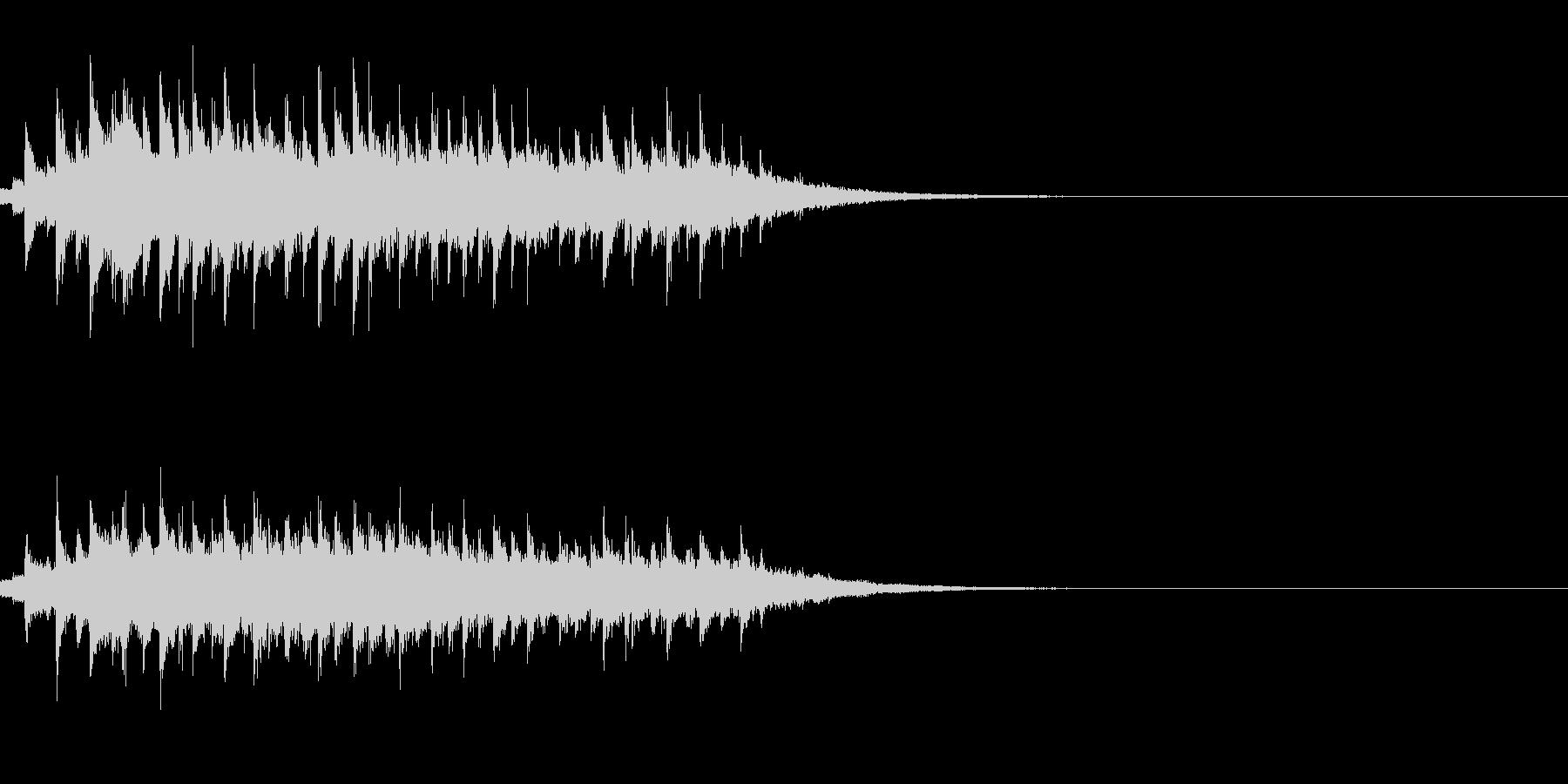 お化け 不思議 コミカル フレクサトーンの未再生の波形