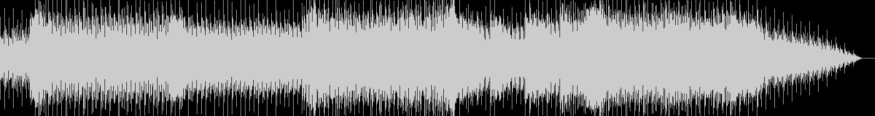 力強いスネアドラムが印象的なBGMの未再生の波形