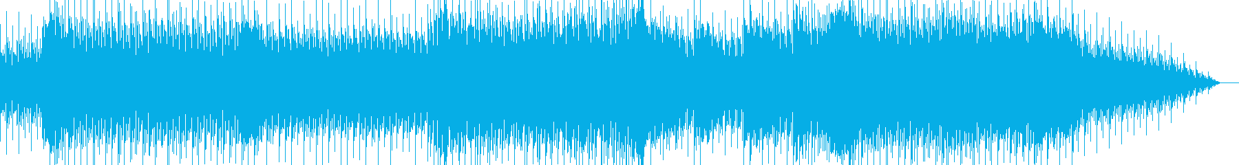 力強いスネアドラムが印象的なBGMの再生済みの波形
