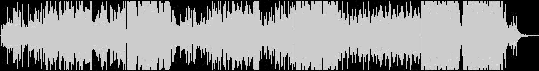 トロピカル+HIPHOP 、洋楽テイストの未再生の波形