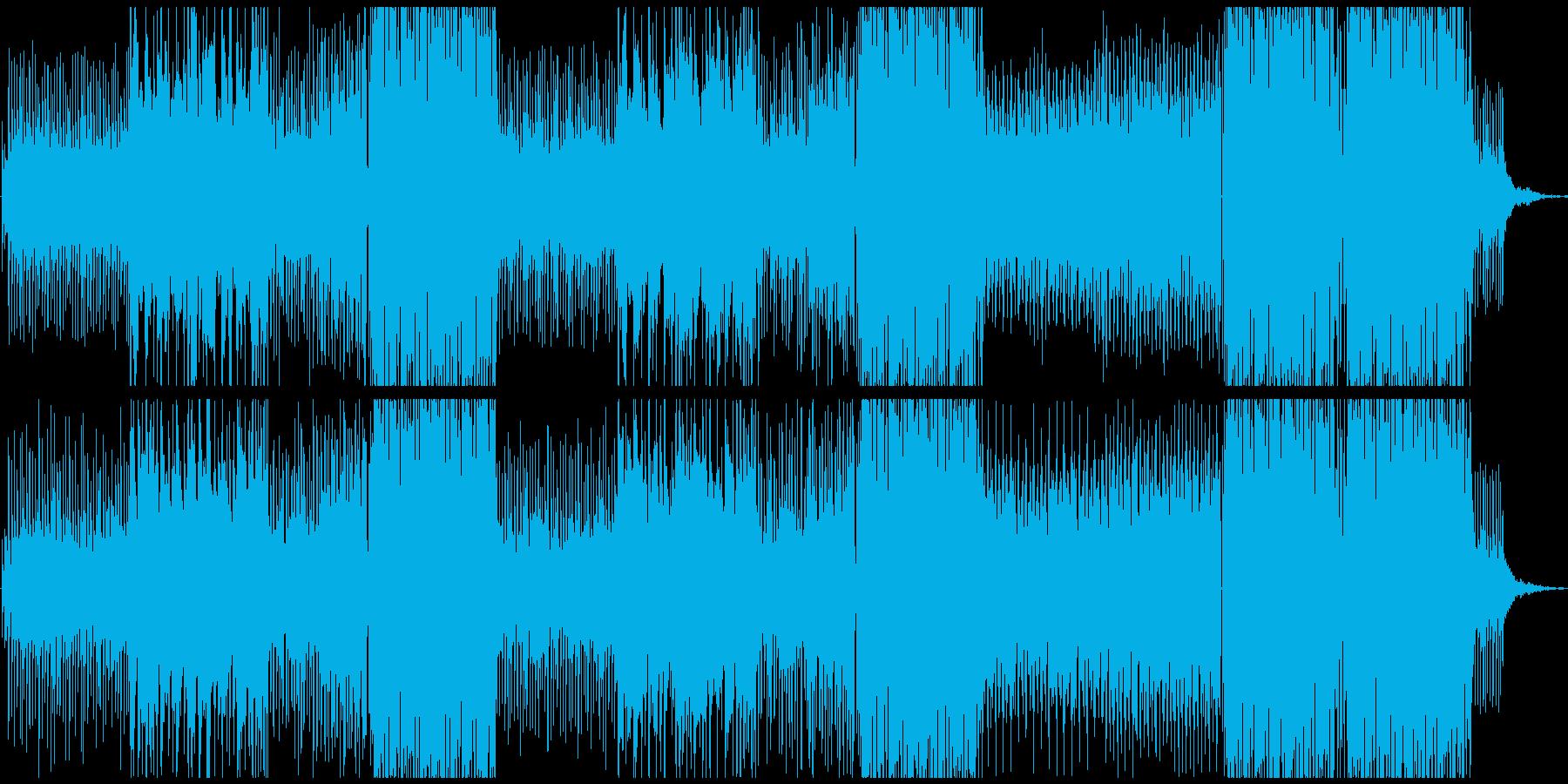 トロピカル+HIPHOP 、洋楽テイストの再生済みの波形