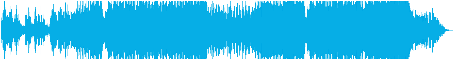 哀愁漂うドラマチックなピアノトランスの再生済みの波形