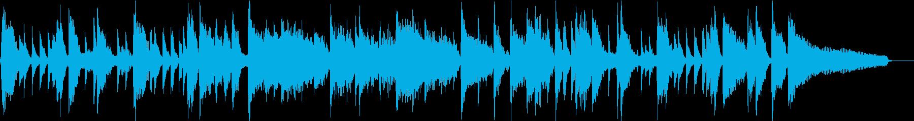 30秒】明るくポップ、ノリの良いピアノの再生済みの波形