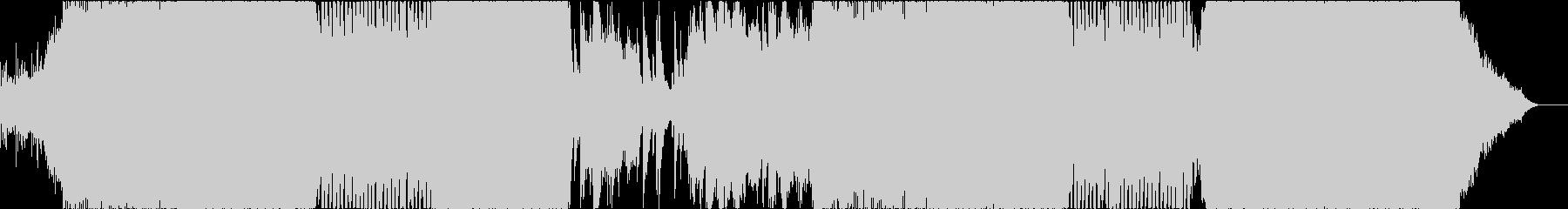 疾走感あふれるドラムンベースの未再生の波形