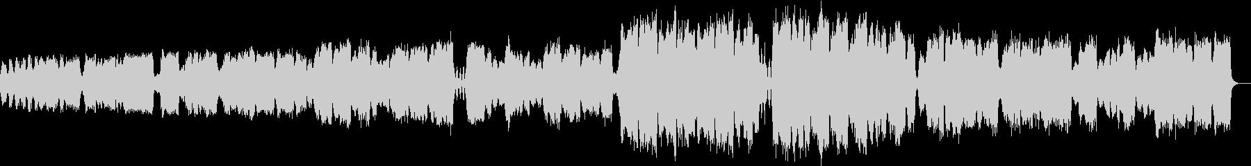 ゆっくりした弦楽四重奏の未再生の波形