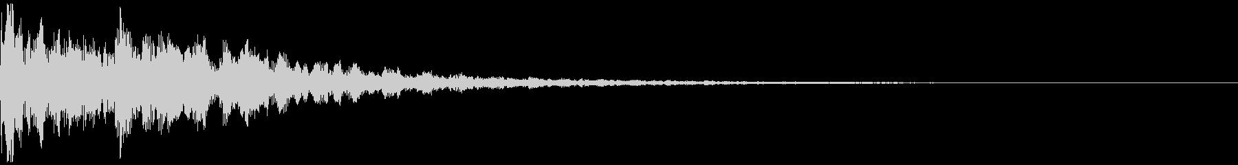 シネマティックインパクトFX・衝撃02の未再生の波形