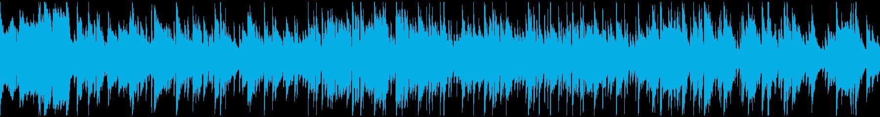 ドリームポップ風味なサックス ※ループ版の再生済みの波形
