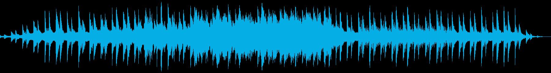 ヒーリングで落ち着いた雰囲気のBGMの再生済みの波形