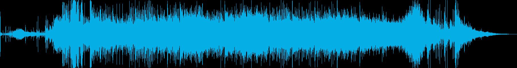 イルカが遊泳する軽快で楽しい楽曲。水族…の再生済みの波形