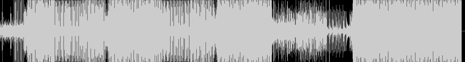 アルペジオを用いたコード感のある4つ打ちの未再生の波形