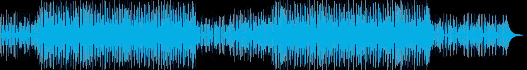 少し儚いおしゃれなボサノヴァの再生済みの波形