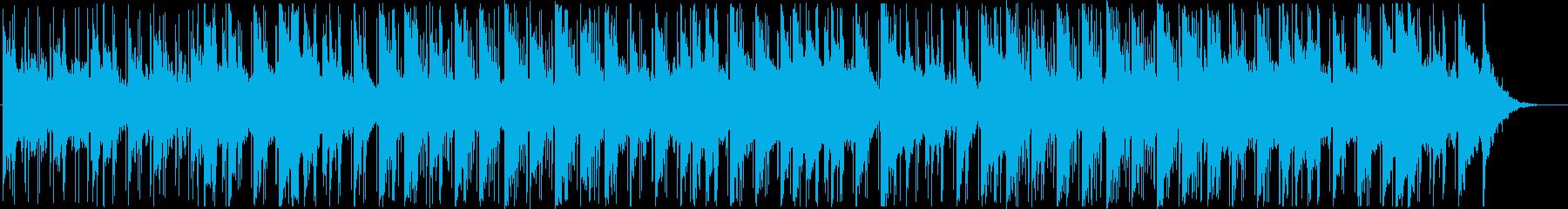レトロで落ち着いたチルビートの再生済みの波形