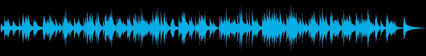 ゆったりとしたジャズ風ラウンジピアノソロの再生済みの波形