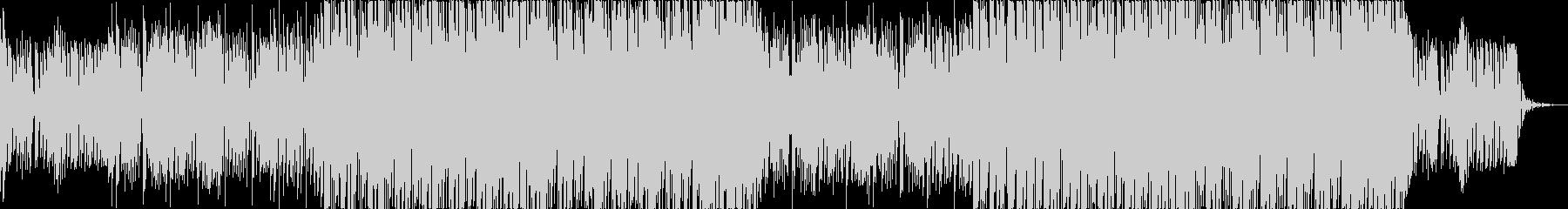 明るいコード感のデジタルポップの未再生の波形