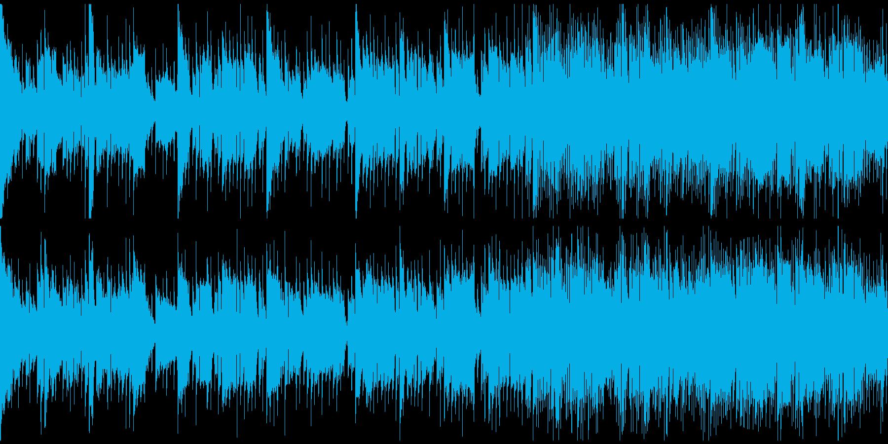 リコーダー、ファンタジー、妖精※ループ版の再生済みの波形