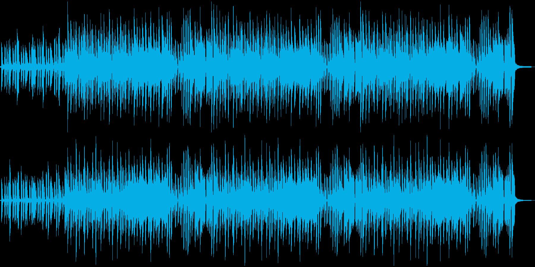 ゲーム・アニメなどの日常に流れている曲の再生済みの波形
