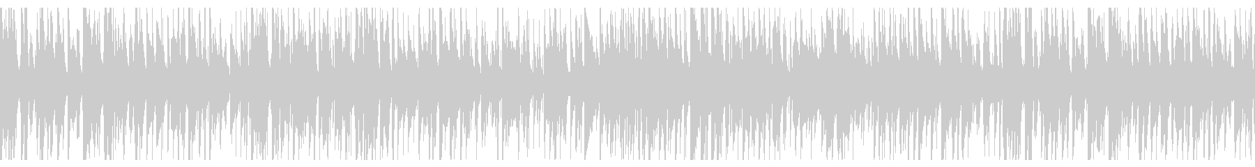 お洒落なジャズピアノトリオ19 ループの未再生の波形