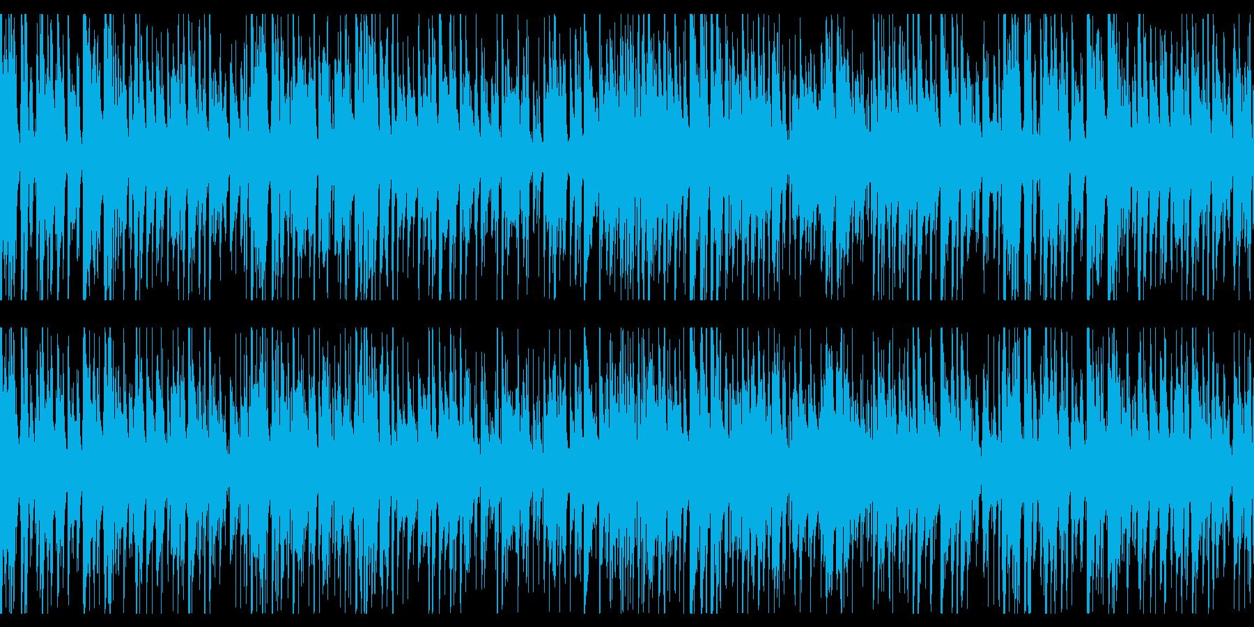 お洒落なジャズピアノトリオ19 ループの再生済みの波形
