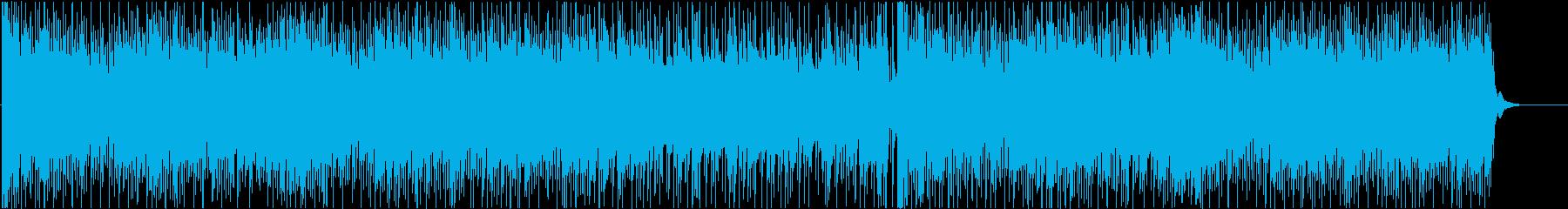 アップテンポで疾走感のあるバトルBGMの再生済みの波形