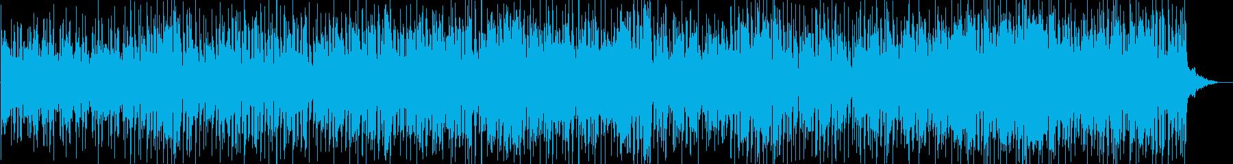大人の恋の別れ際をイメージしたBGMの再生済みの波形