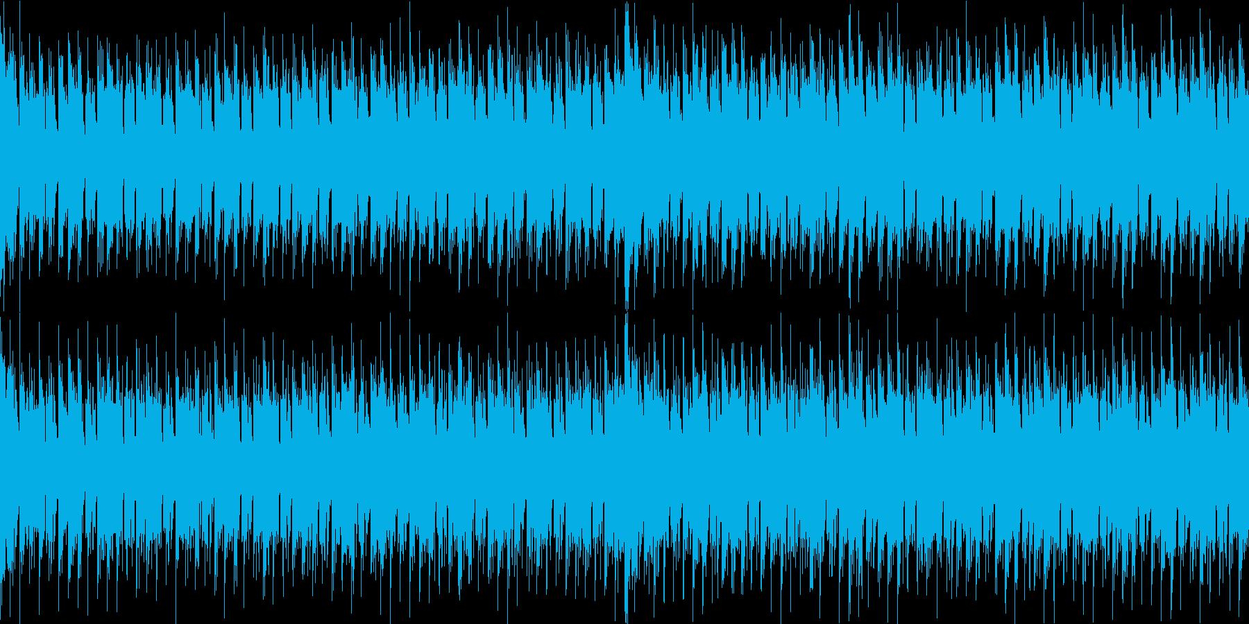 空気感のある特殊なシンセメロのダンス系の再生済みの波形