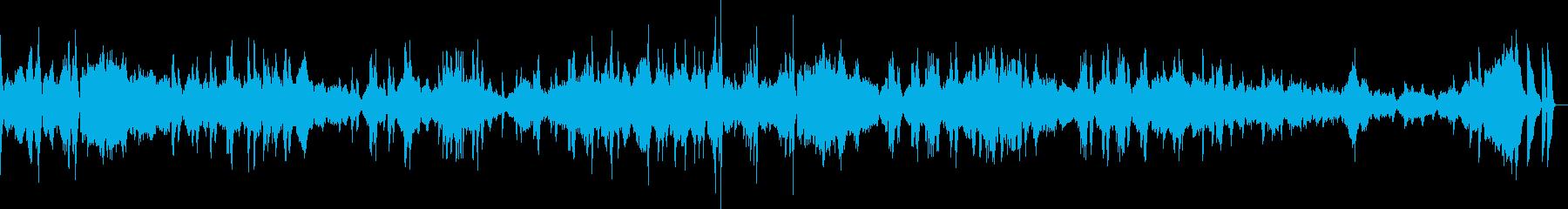 ショパン エチュード 革命の再生済みの波形