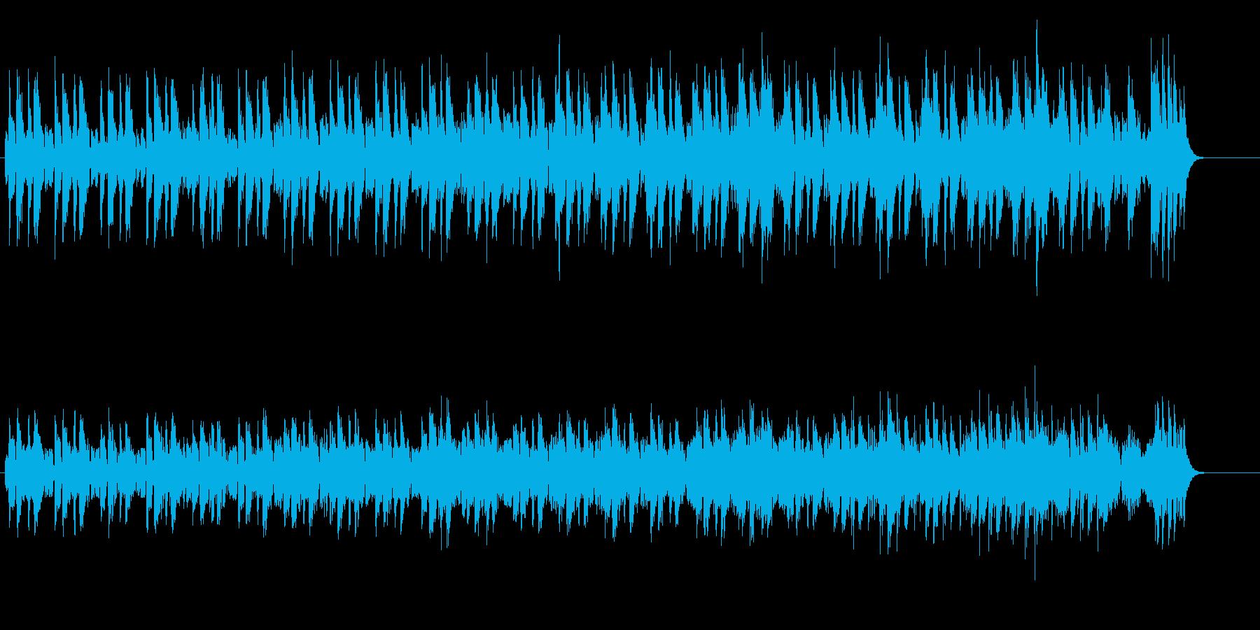 ジャジーでお洒落なジャズ感覚のポップスの再生済みの波形