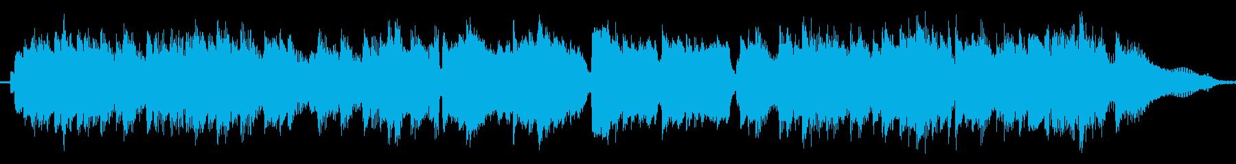 クラシックギターの定番の曲の再生済みの波形