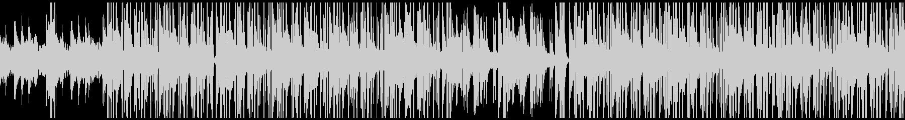 サックスとピアノのクールなヒップホップの未再生の波形