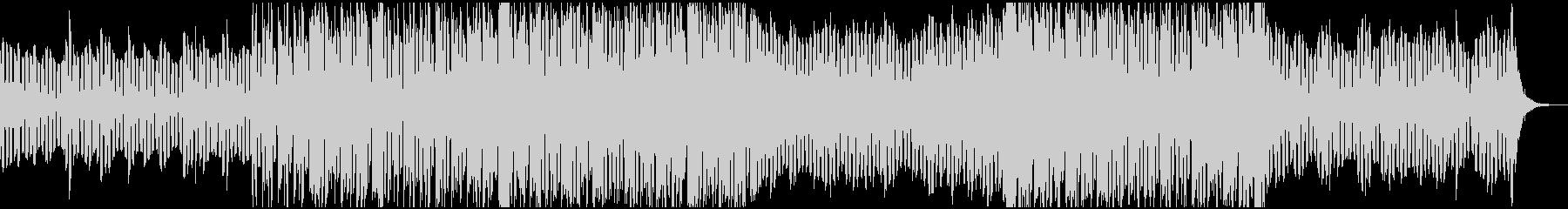 空間的、幻想的なチルヒップホップBGMの未再生の波形