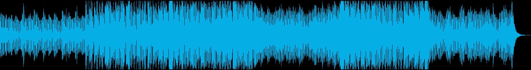 空間的、幻想的なチルヒップホップBGMの再生済みの波形