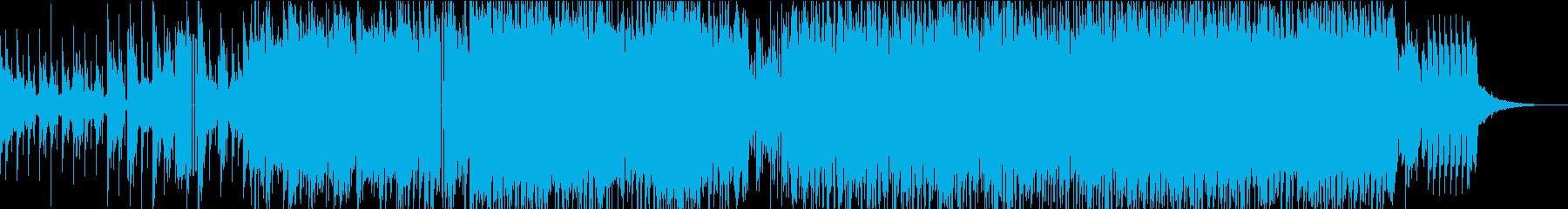 ダンスミュージックのようなEDMの再生済みの波形