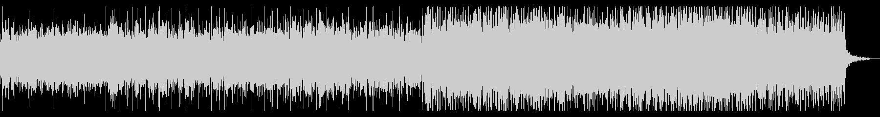 ダークで異質なテクスチャIDMの未再生の波形