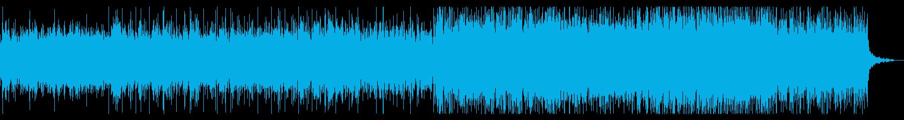 ダークで異質なテクスチャIDMの再生済みの波形