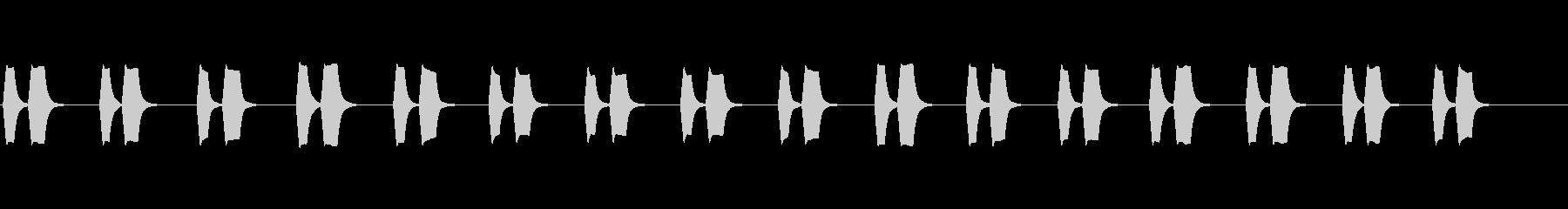 【ピピッピピッ】大型車の左折_01の未再生の波形