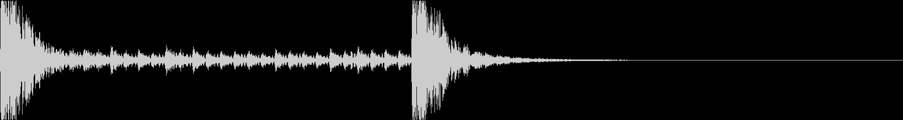 和風ドラムロール[和太鼓、鼓] 5秒_1の未再生の波形