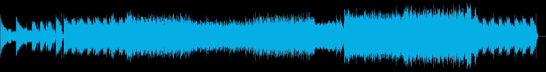 強い主人公の登場をイメージした楽曲の再生済みの波形