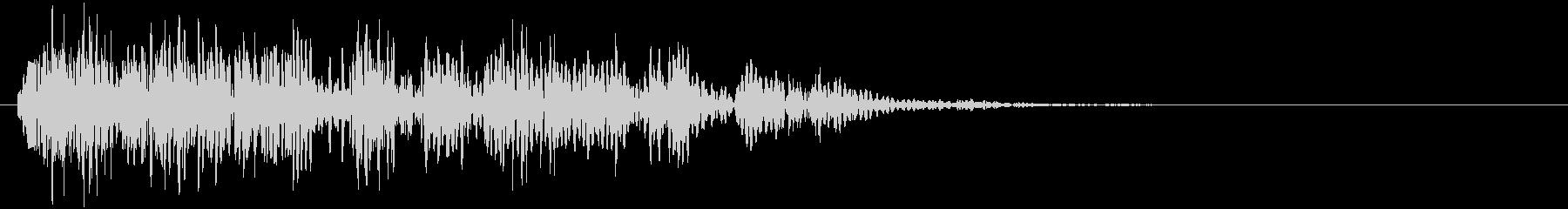 爆発・衝撃波・ソニックブーム7の未再生の波形