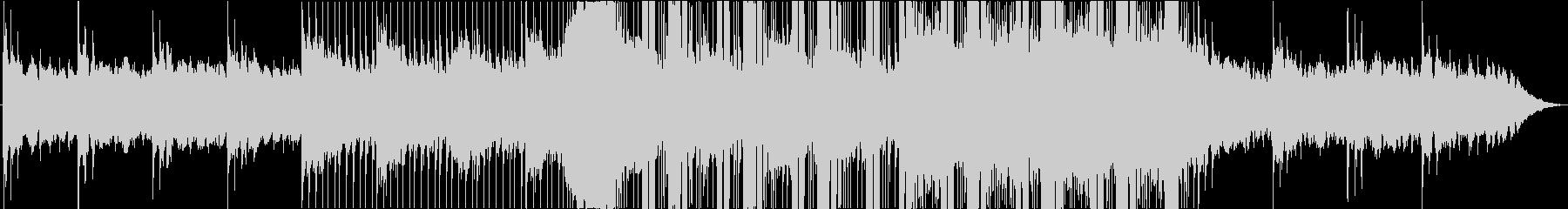 ミステリアスなBGMの未再生の波形