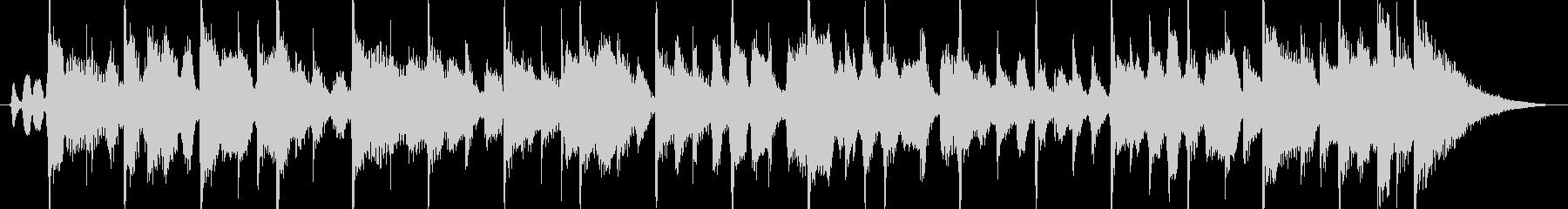 ハーモニカ生演奏カントリーロック風の未再生の波形
