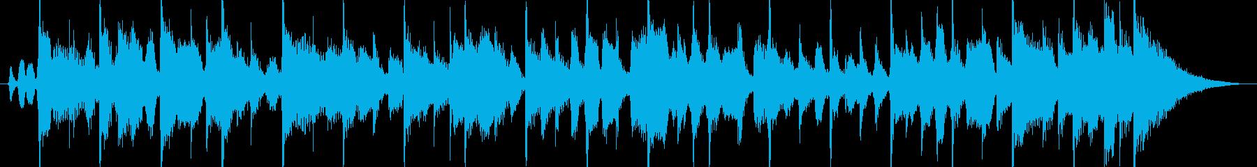 ハーモニカ生演奏カントリーロック風の再生済みの波形