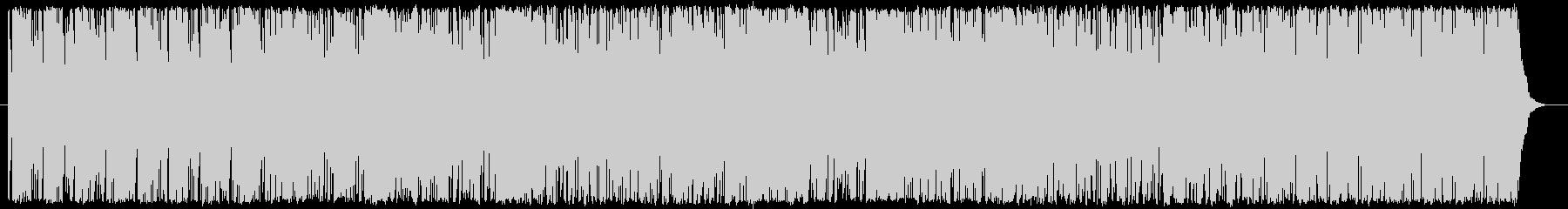 アナログシンセサイザーのテクノの未再生の波形