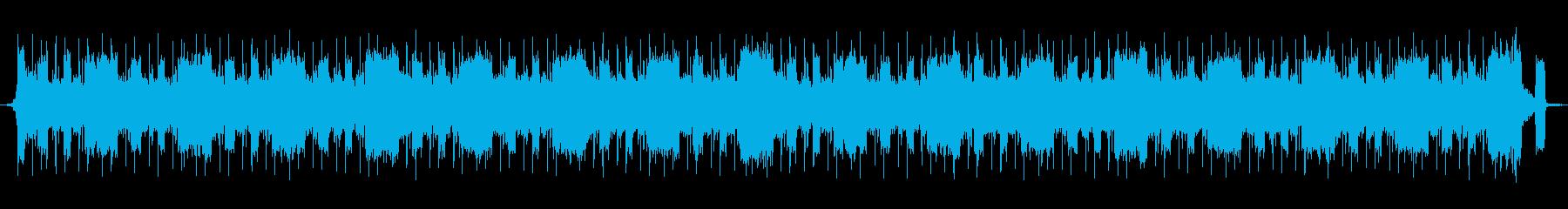 疾走感あふれるシリアスなデジロックの再生済みの波形