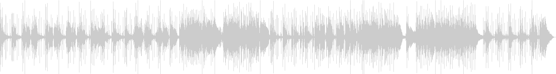 英詞UK的幻想サイケ12弦アコギバラードの未再生の波形