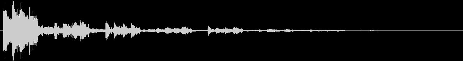 KANT涼しげアイキャッチ09228の未再生の波形
