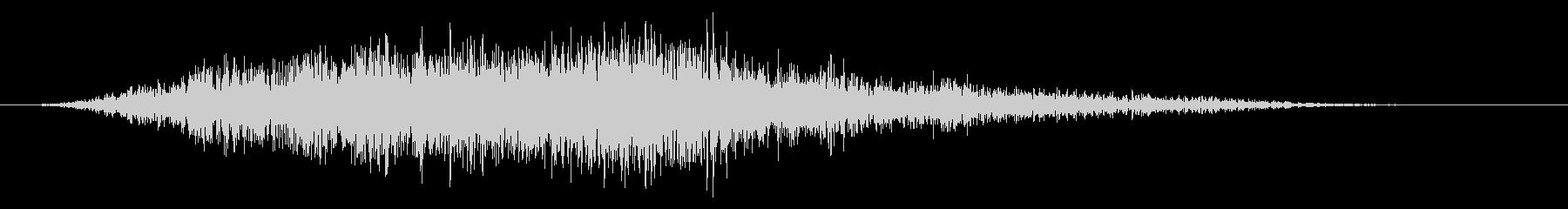 スローメタリックブジングウーの未再生の波形