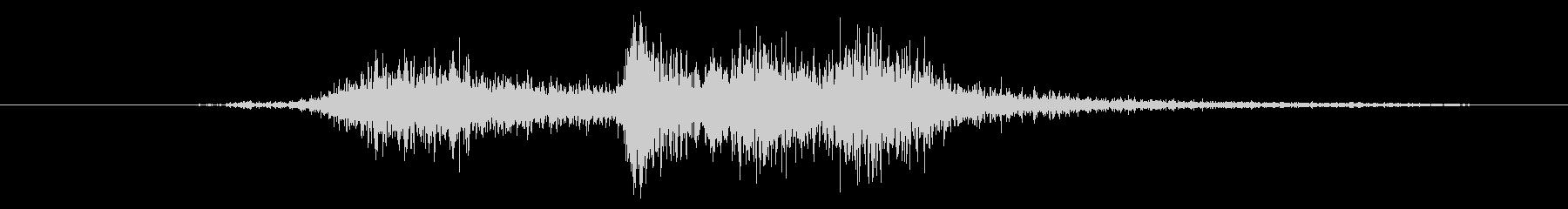 機械 ドリルワイヤーブラシ03の未再生の波形