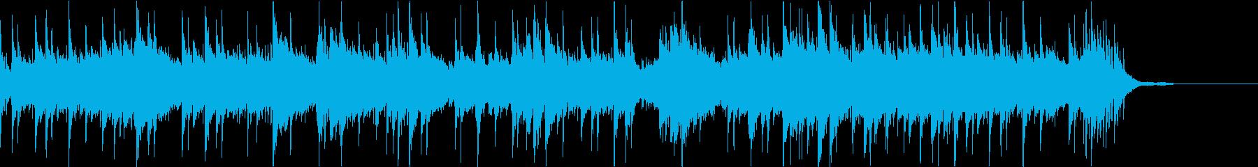 クールで浮遊感のあるピアノポストロックの再生済みの波形